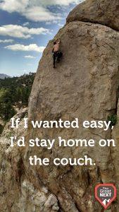 rock climbing in India