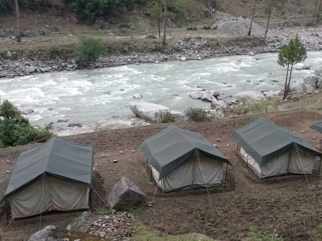 best campsites in india