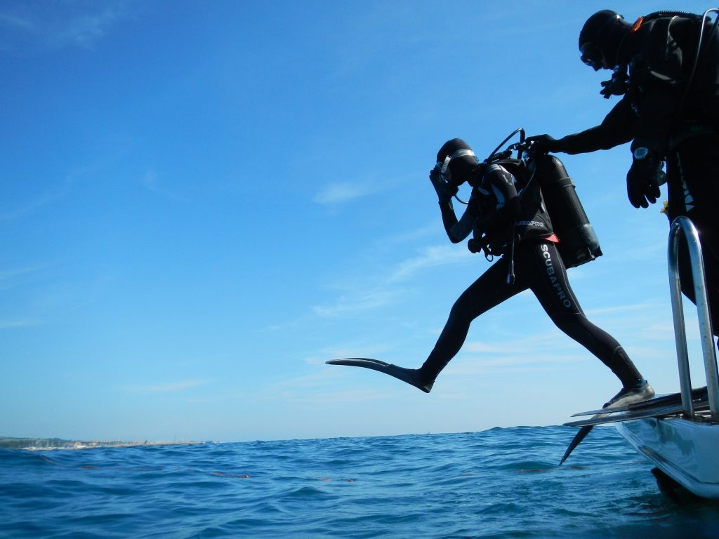 scuba diving in Andamans