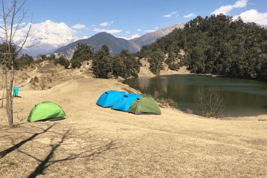Camping in Chopta