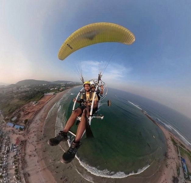 Paramotoring in Vizag