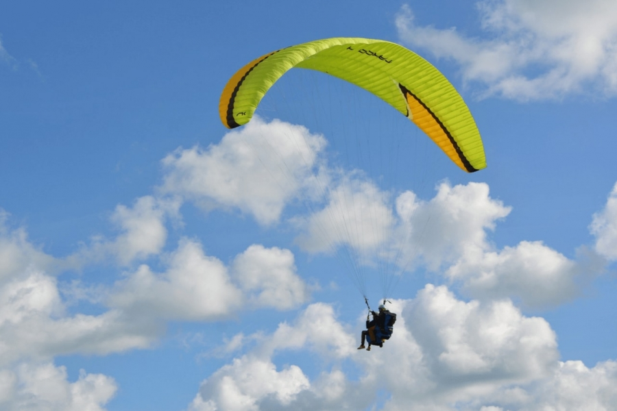Paragliding in Lonavala