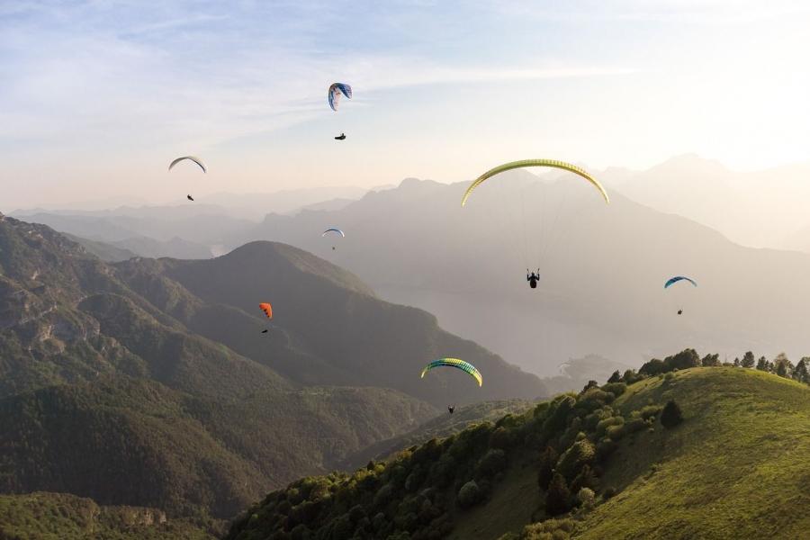 Paragliding courses in Bir Billing