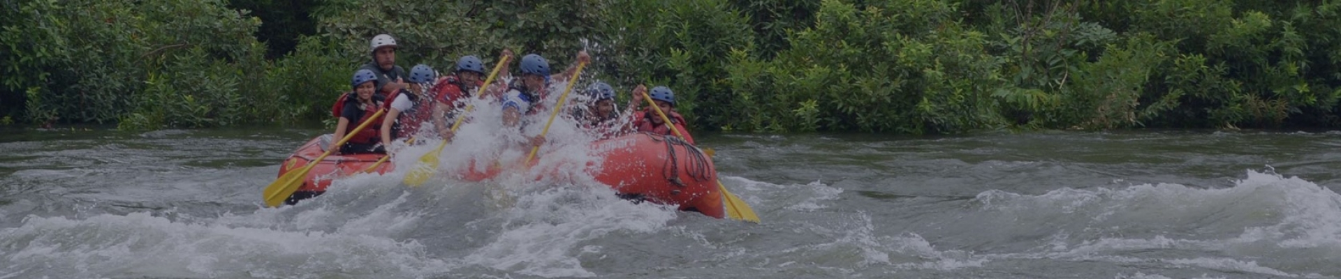 Thrilling rafting packages, from day trips to overnight stays in tents, dorms or cottages