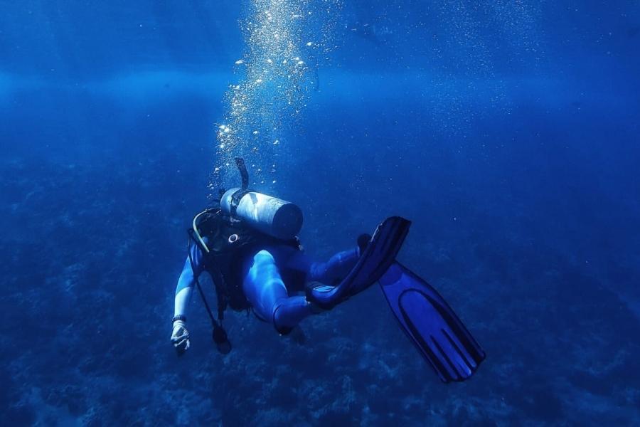 Scuba diving in Koh Samui