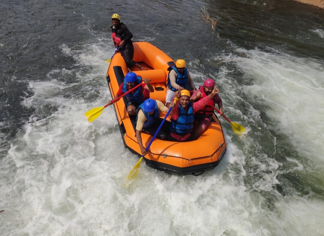 Book the Karjat rafting adventure today