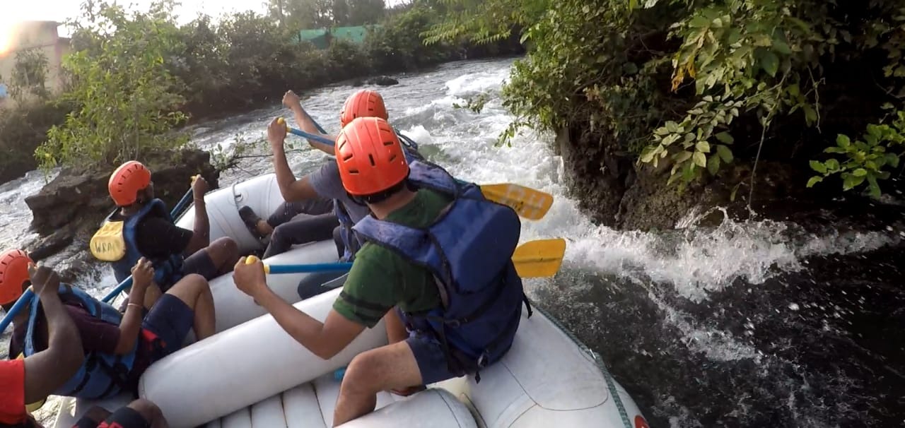 Don't miss the thrill of rafting on a gushing river with Karjat river rafting