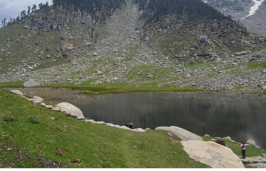 Trek to Kareri Lake