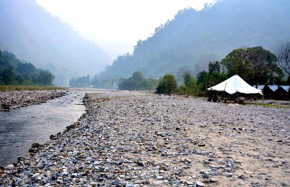 Rafting (16kms) with Riverside Camping (1N/2D)