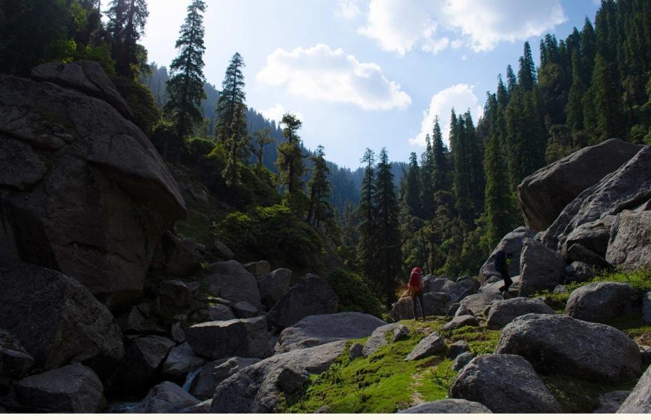 Trek to Kareri Lake trek