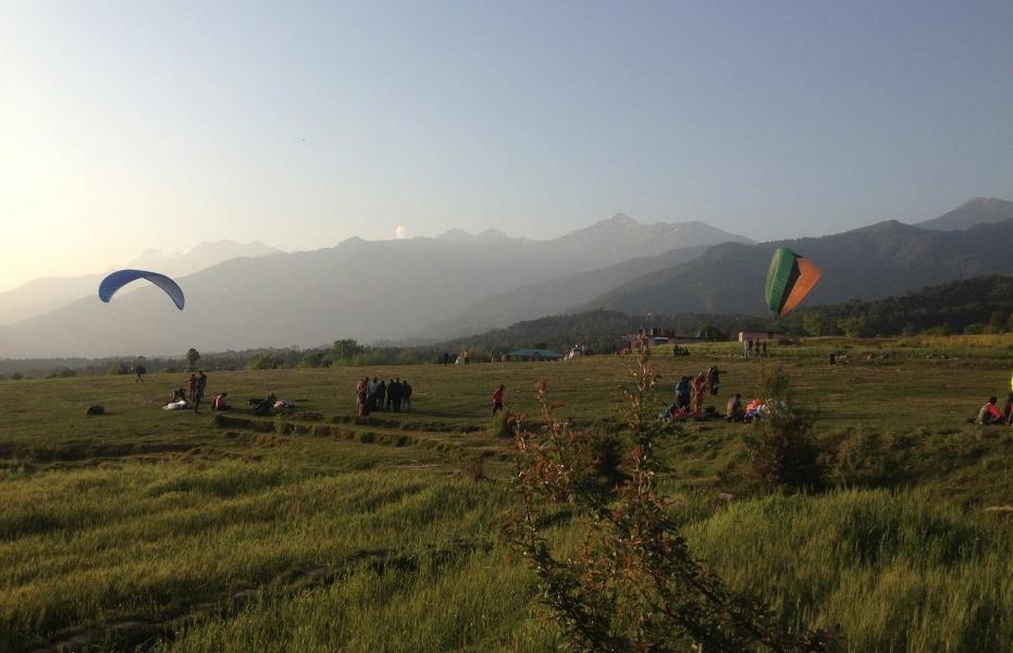 Cross Country Tandem Paragliding in Bir Billing
