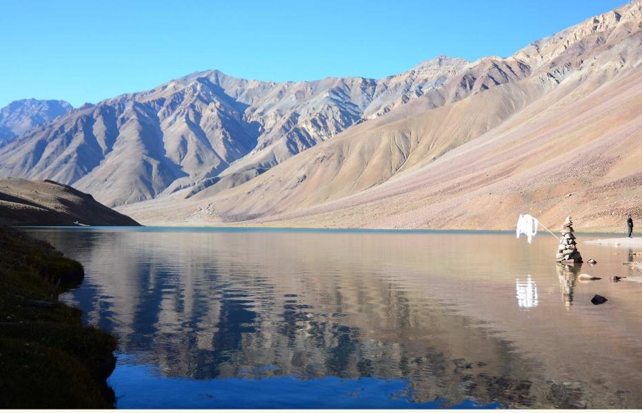 Hampta Pass and Chandratal with Kunzum La
