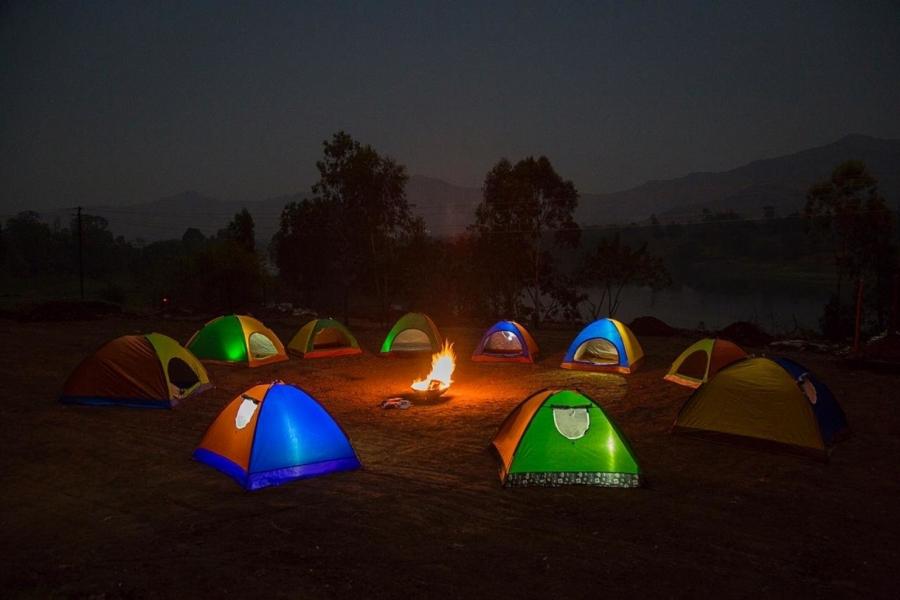 Camping near Bhor