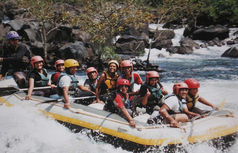 Weekend rafting in Kolad