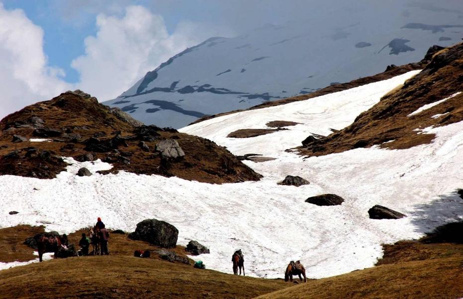 Kuari Pass and Pangarchulla Peak (Ex-Haridwar)