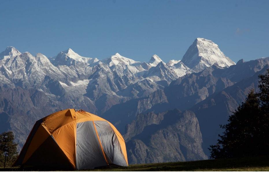 Kuari Pass and Pangarchulla Peak (Ex-Joshimath)