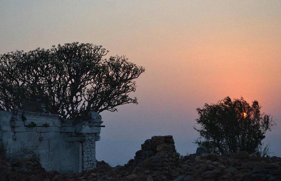 Night trek to Makalidurga Fort
