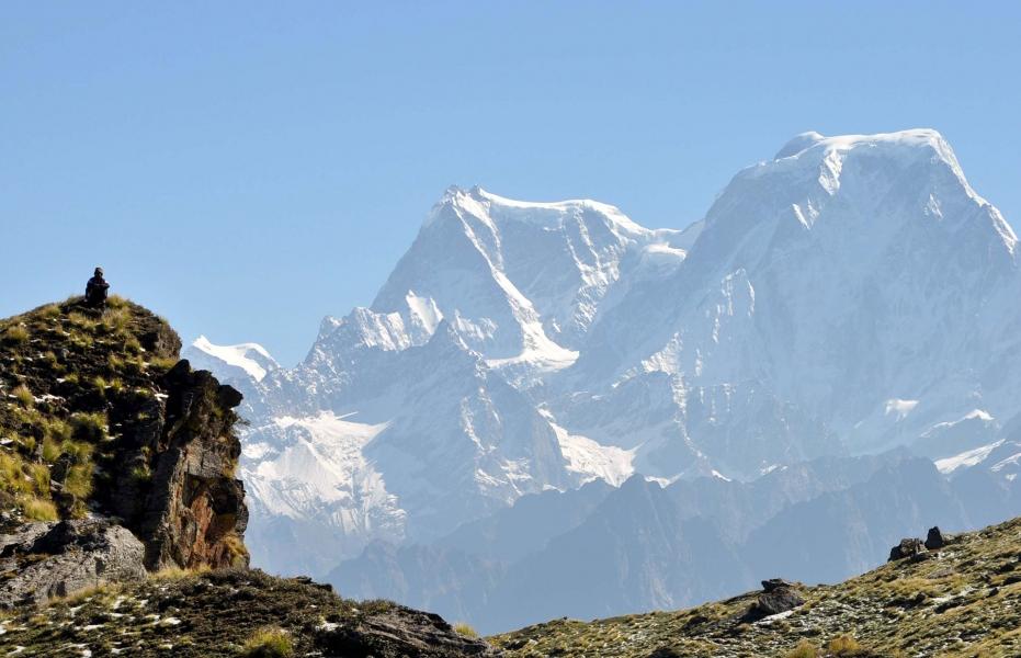 Backpacking trek to Kuari Pass and Pangarchula