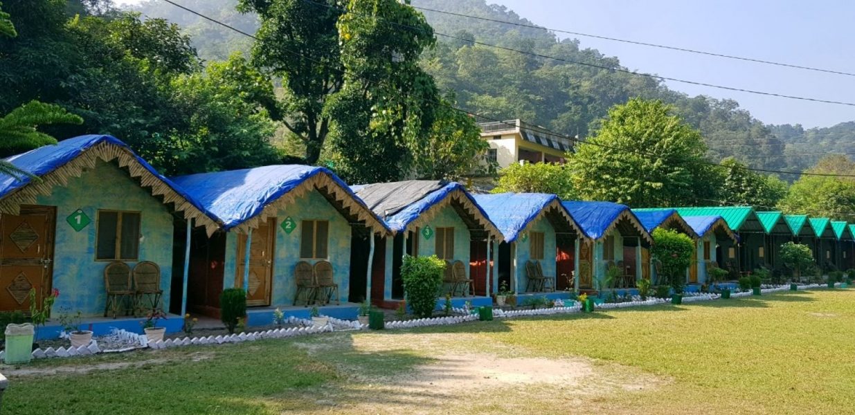 Cottage stay at forest camp, Rishikesh