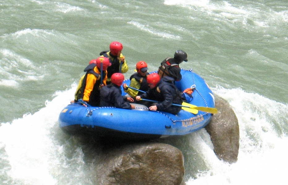 The Tons Thriller Rafting Expedition