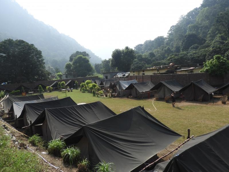 New Year camping in Rishikesh
