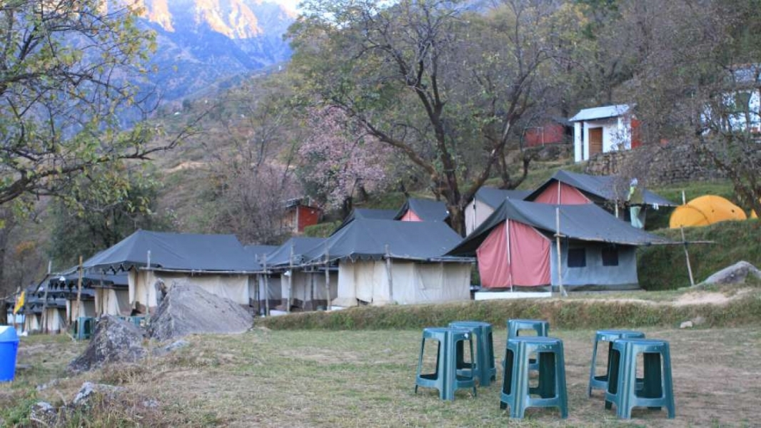 New Year's Special: Camping in Dharamshala