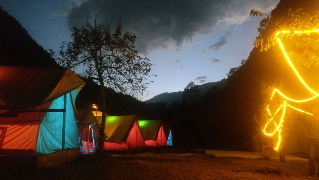 New Year Camping in Kasol (1n2d)