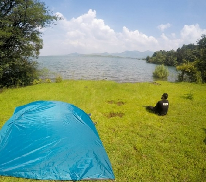New Year camping in Pavna