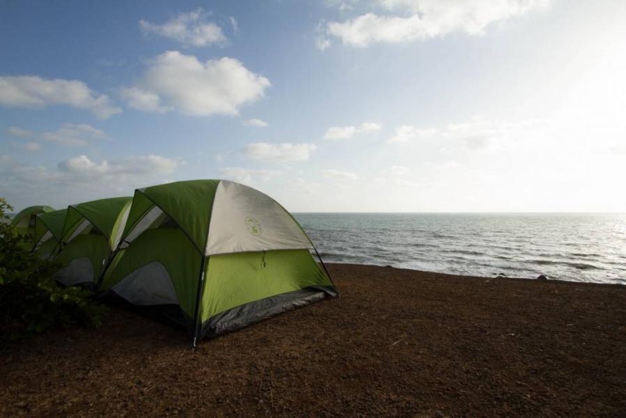 Beach Camping at Kashid - Hillock