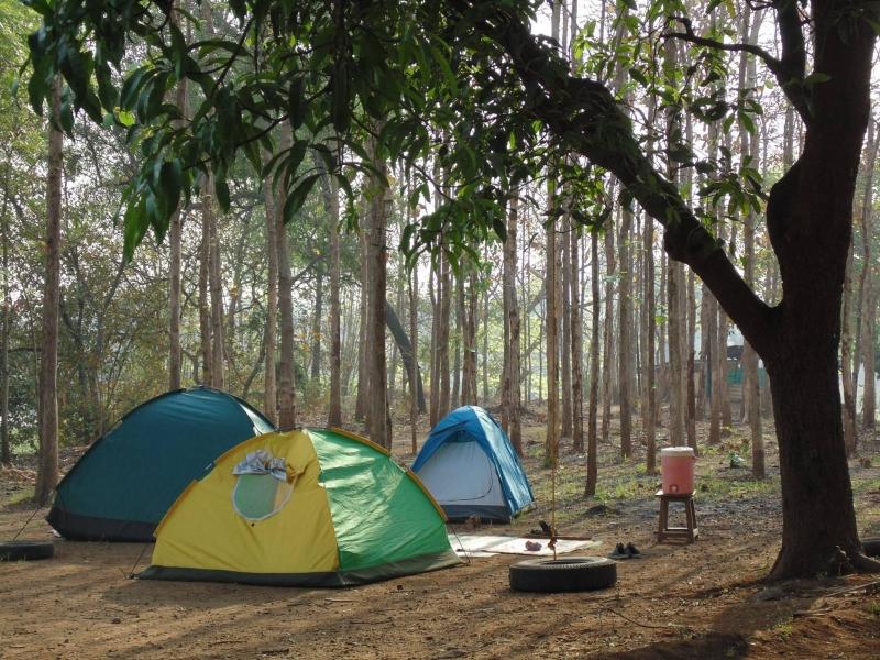 Camping at Bhatsa River