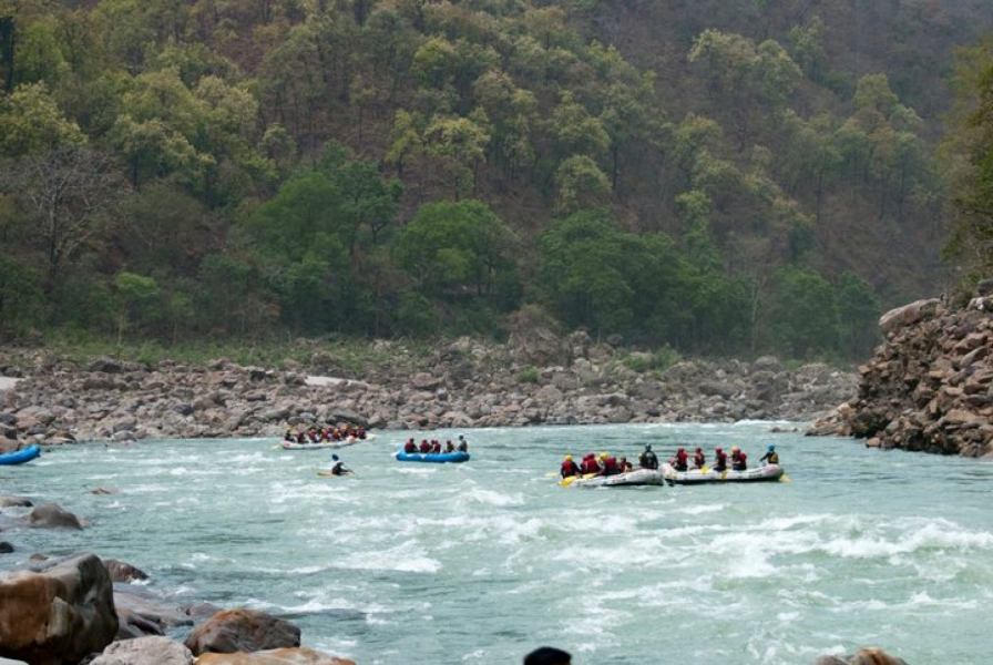 Rafting Camp in Rishikesh - 1N2D (16 kms)