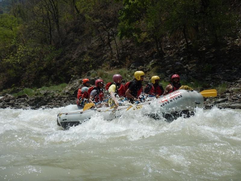 Rafting Camp in Rishikesh - 2N3D (16 kms)