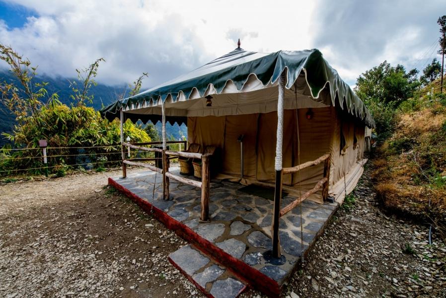 Nainital camping trip (Swiss tents)