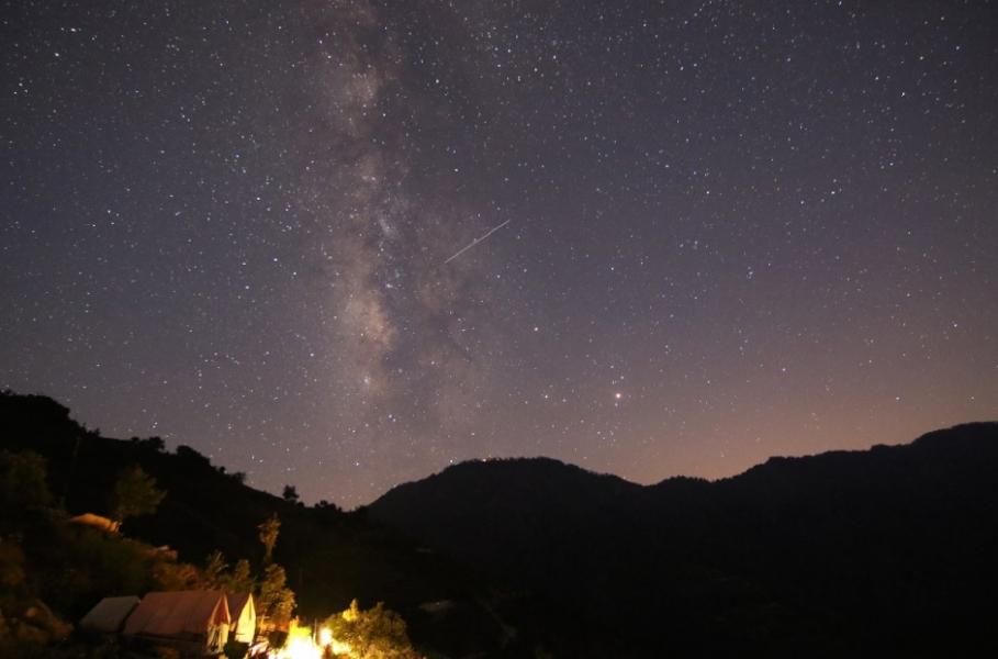 Swiss Tent Camping in Kanatal