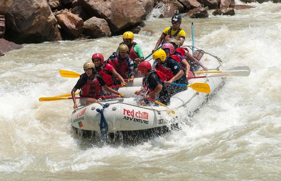One-day Rafting on the Ganges: Kodiyala-Laxman Jhula