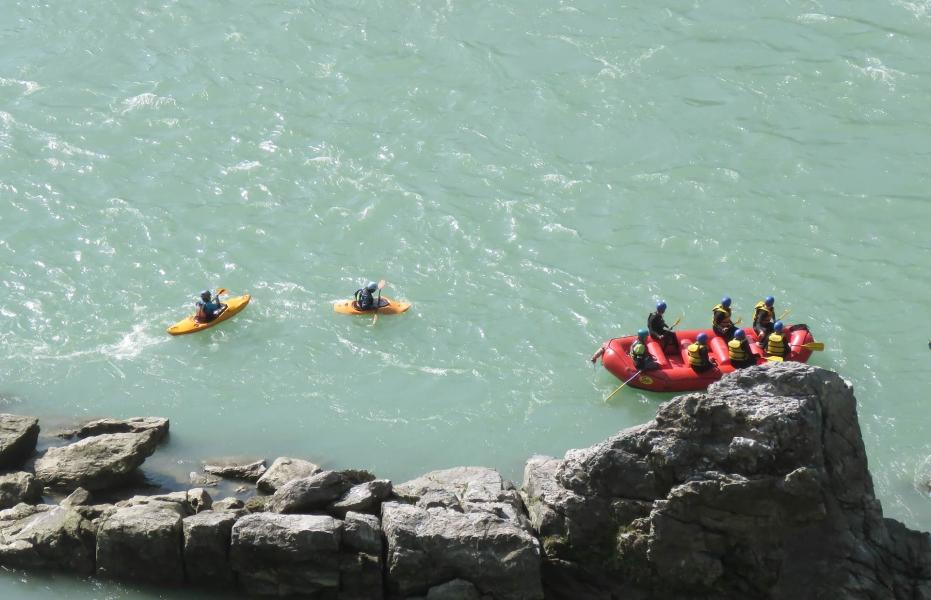 Rafting in Rishikesh-Brahmapuri to Laxmanjhula