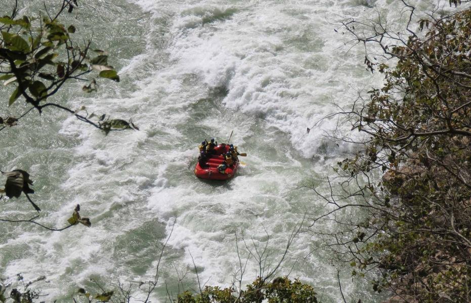 Rafting in Rishikesh-Shivpuri to Laxmanjhula