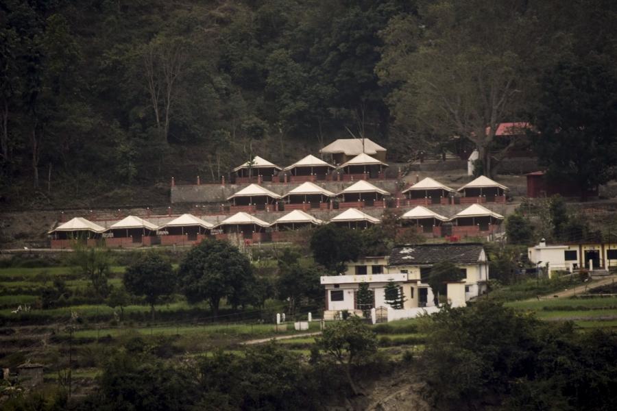 Riverside Camping in Rishikesh