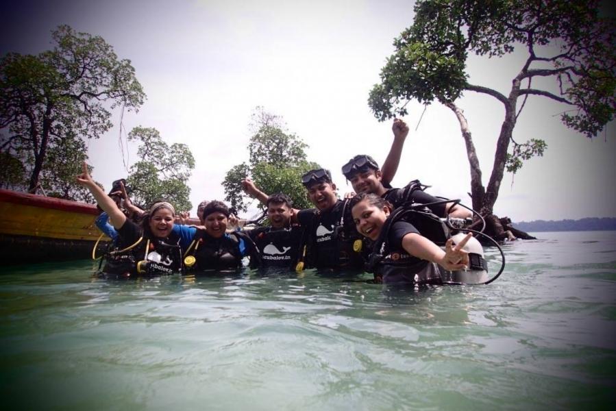 Discover Scuba Dive on boat (Single dive)