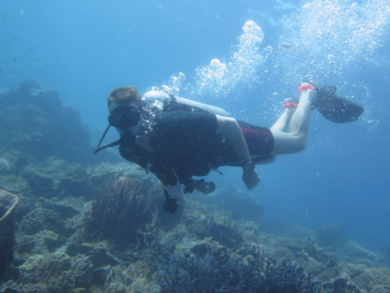 Two Try Dives in Koh Chang, Thailand
