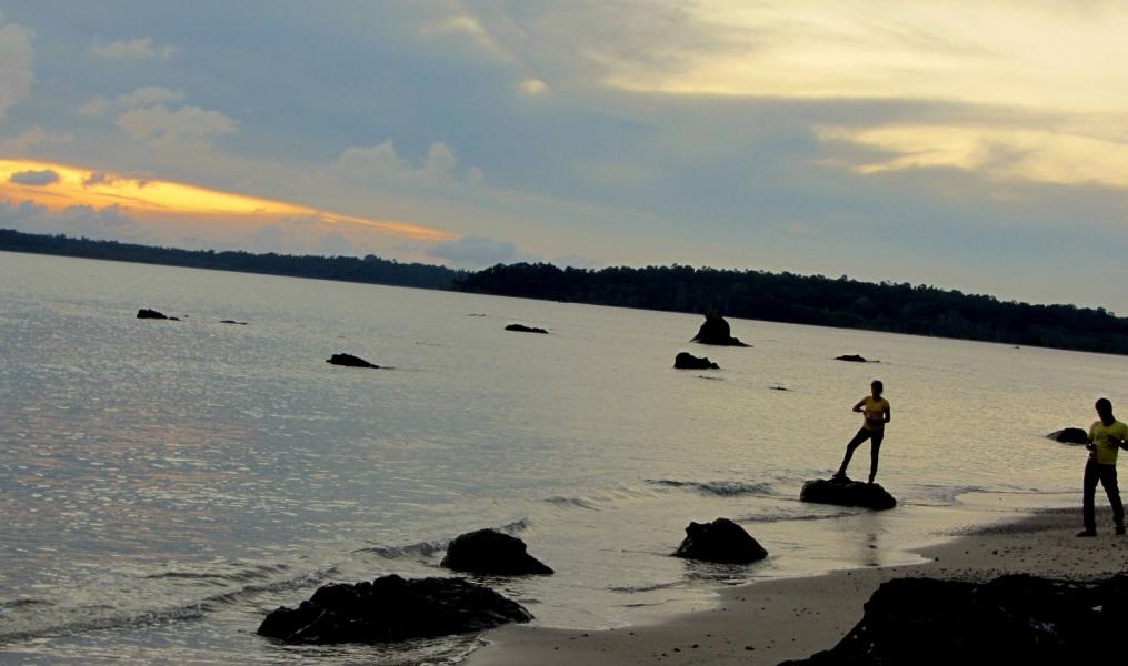 Sunset Trek at Chidiya Tapu, Andamans