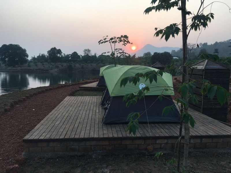 Camping at Kalote Lake, Lonavala
