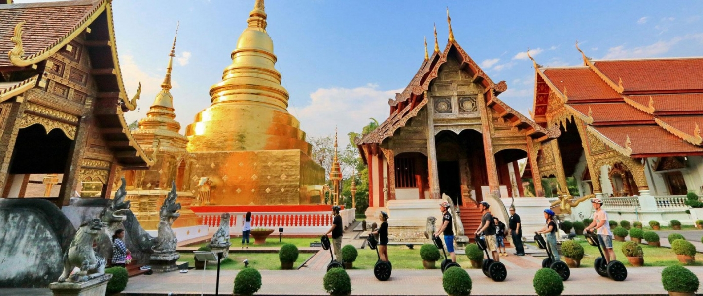 Guided Segway Tour of Chiang Mai, Thailand
