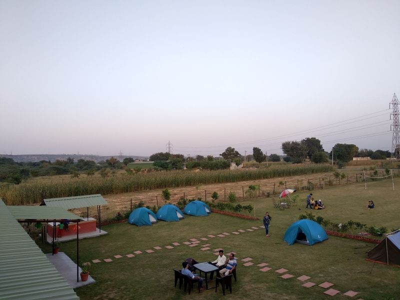 New Year Camping near Delhi