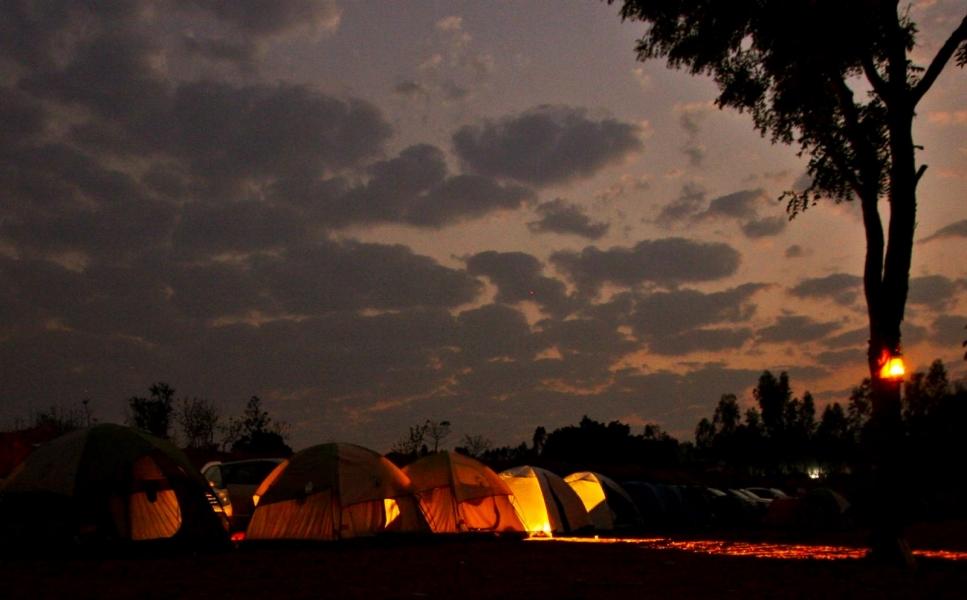 New Year camping near Bangalore