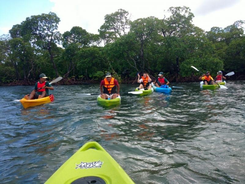 kayaking in andamans