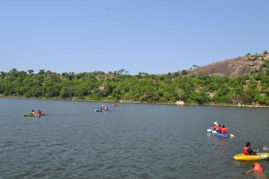 Camping and kayaking at Ramanagara