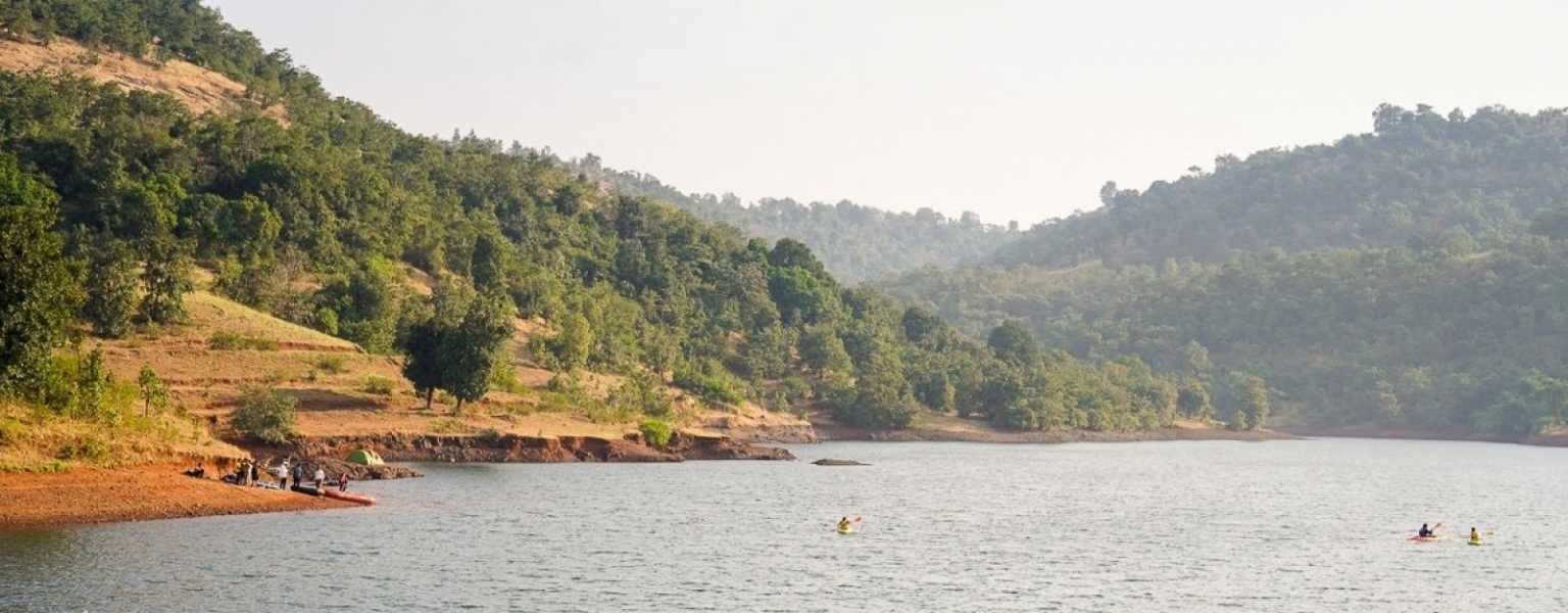 Lakeside camping near Igatpuri