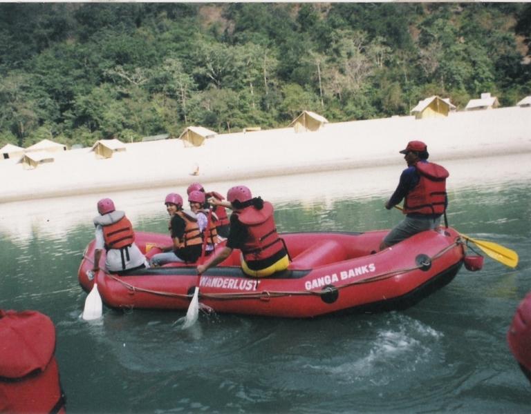 2-day Rishikesh rafting camp
