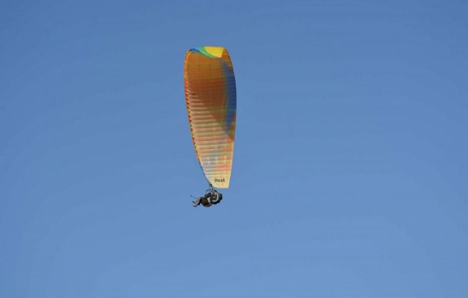 Tandem Paragliding in Kullu